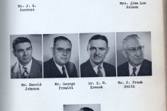 O.L. Price Yearbook 1949 Adminstration (4 of 4)