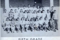 O.L. Price Yearbook 1949 5th Grade-1