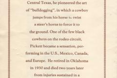 bill pickett marker dedication 1992 page2