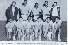 1. O.L. Price Yearbook 1961 Athletics (3 of 5)