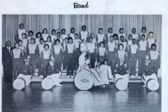 1. O.L. Price Yearbook 1961 Band and Drum Majors (1 of 4)