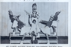 1. O.L. Price Yearbook 1961 Band and Drum Majors (2 of 4)