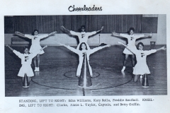 1. O.L. Price Yearbook 1961 Band and Drum Majors (3 of 4)
