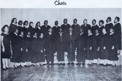 1. O.L. Price Yearbook 1961 Choir (1 of 2)