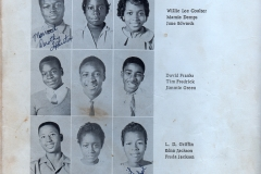 1. O.L. Price Yearbook 1961 Classes Freshman (1 of 2)