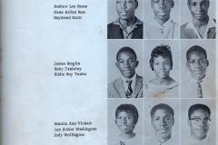 1. O.L. Price Yearbook 1961 Classes Freshman (2 of 2)