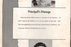 O.L. Price Yearbook 1961 Faculty01