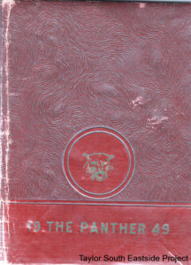 1949 O.L. Price Yearbook cover